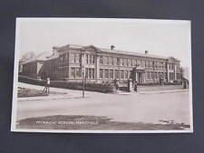 Technical School Mansfield UK GB Postcard