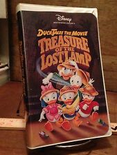 DuckTales The Movie Treasure Of The Lost Lamp Disney VINTAGE VHS White Clamshell