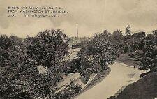 View Looking SE From Washington Street Bridge in Wilmington DE Postcard 1908