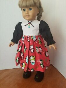 """Dress with Boots - Penguin - Fits 18"""" Doll - Handmade - BUY MORE, SAVE MORE!!!"""