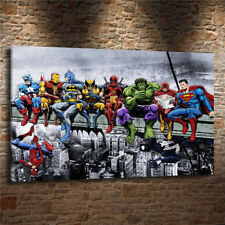 Not Framed Canvas Print Home Decor Wall Art Picture art MARVEL SUPERHEROES 16X24