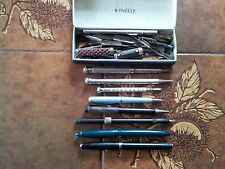 Eversharp Vintage Silver Plated Propelling Pencil (Group of Nine Items)