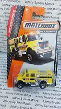 MATCHBOX INTERNATIONAL WORKSTAR BRUSH FIRE & EMERGENCY VEHICLE MBX RESCUE