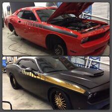 Dodge Challenger Stripe Graphics Custom