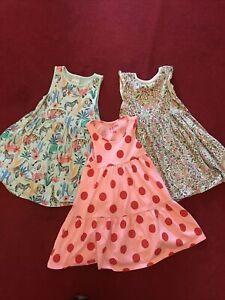 3 X F&F Dresses Girls 5-6 116cm