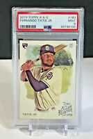 2019 Topps Allen & Ginter Fernando Tatis Jr PSA 9 Mint Rookie Card RC A&G