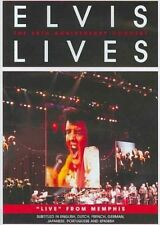 Elvis Lives The 25th Anniversary Concert DVD 2007 Region 1 US IMPORT N