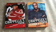 Chapelle's Show Seasons 1 & 2 Uncensored DVD Sets