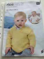 Rico Baby Knitting Pattern Soft DK 150