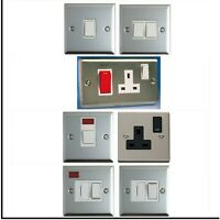 Stainless Steel Switches & Electrical Sockets Clearance White Finish