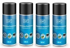 4 x Compressed Air Duster Gas Spray / Cleaner, CAT, Can 400ml