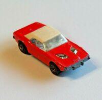 Vintage Matchbox Superfast Dodge Challenger No. 1 Red Die Cast Toy Car 1975
