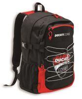 DUCATI CORSE Sketch Rucksack Tasche Backpack schwarz rot NEU !!