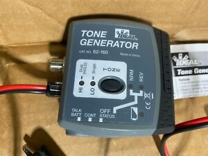 IDEAL 62-160 Tone Generator with testing Cable for Coax, Wire or RJ Jack