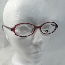 NEW MODERN OPTICAL SNEAKERS YOUTH EYEGLASSES FRAMES 47-18-135 WINE/GREY