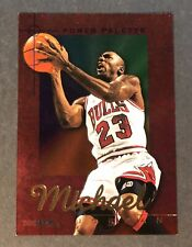 1995-96 NBA Hoops Michael Jordan Power Palette Foil Chicago Bulls HOF Insert #1