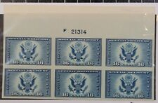 Scott 771 16 Cents Airmail Special Deliv  NGAI - Plate Block Of 6 SCV $55.00