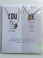 Friendship Broken Heart Best Friend You And Me Couples lovers Necklace Jewelry