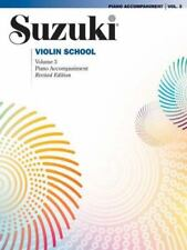 Alfred Suzuki Violin School Piano Accompaniment Volume 3