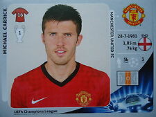 Panini 523 Michael Carrick Manchester United UEFA CL 2012/13