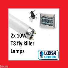 Sale Pack of 2x 10W FLY KILLER REPLACEMENT TUBES INSECT ZAPPER 2 X 10 WATT TUBES