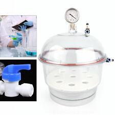 Plastic Vacuum Desiccator Vacuum Jar Dessicator Pppc Vacuum Dryer 150mm New