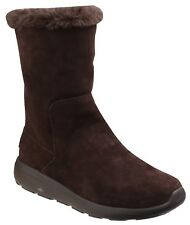 Skechers Womens/ladies on The Go City 2 Appealing Cushioned Tall BOOTS UK 7 Chocolate
