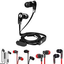 3.5MM JACK IN EAR MEGA BASS STEREO HANDS FREE HEADSET EARPHONES HEADPHONE + MIC