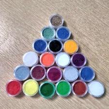 10g Epoxy Resin Craft Coloured Pigment Powders  * 76 Colours* Inc. Eco Glitter