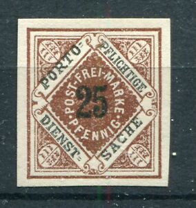 GERMANY WURTTEMBERG 1917 SCOTT O24 SCARCE IMPERF PROOF SUPERB MNH SEE SCANS