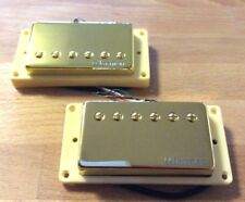 Warman Guitars Tennessee Revival Gold Plated Matched Pair Humbuckers
