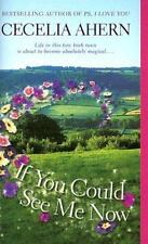 If You Could See Me Now by Cecelia Ahern Life in a Magical Irish Town Free Ship