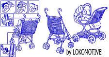 Sonnengelb ASMI GELB  NETZ Einkaufsnetz Kinderwagen Buggy  Jogger