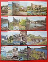 Beautiful Collection of 20 New Scotland Art Postcards by Sue Firth & Pat Bell