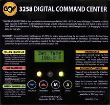 Gqf Replacement Digital Screen Command Center For 1502 Sportsman Incubator 3265