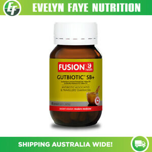 FUSION HEALTH GutBiotic SB+ - 60 capsules