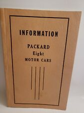 1931 Packard owners manual