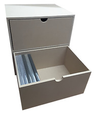 2 Drawer DVD Case Rack KX (insert for IKEA Kallax/Expedit to hold DVD Cases)