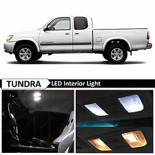 2000-2006 Toyota Tundra White Interior LED Lights Package Kit