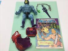 He Man Dragon Blaster Skeletor With comic