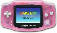 Fuchsia Pink Clear Nintendo Game Boy Advance System Brand New Screen!!!