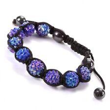 Bracelet Joy Shamballa bleu outremer