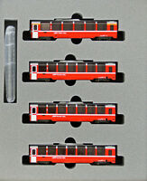 Kato 10-1319 Rhaetian Railway Bernina Express 4 Cars Add-on Set (N scale)