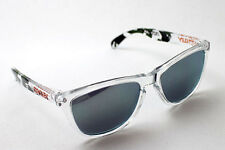 NEW Oakley Frogskins Eric Koston Signature Series Clear / Emerald Iridium 24-436