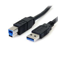 StarTech 6ft SuperSpeed USB3.0 Type-A à Type-B Câble Noir