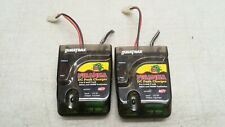 Two Used Duratrax Piranha NiCd NiMH DC Peak 6 7 Cell Charger 12V DC