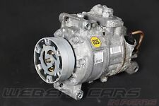 Audi A8 4H 4,2L FSI V8 Klimakompressor a/c compressor 4H0260805G