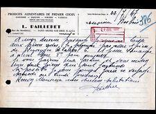 """SAINT-MICHEL-sur-ORGE (91) EPICERIE Dépot des VINS NICOLAS """"L. PAILLERET"""" 1947"""