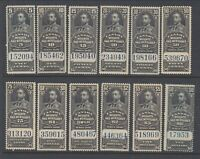 MNH Canada Weights and Measures Set #FWM60 - 71 (Lot #RR113)