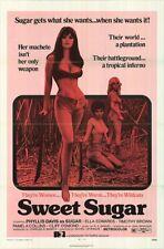 SWEET SUGAR original SEXPLOITATION poster PHYLLIS DAVIS one sheet 27x41